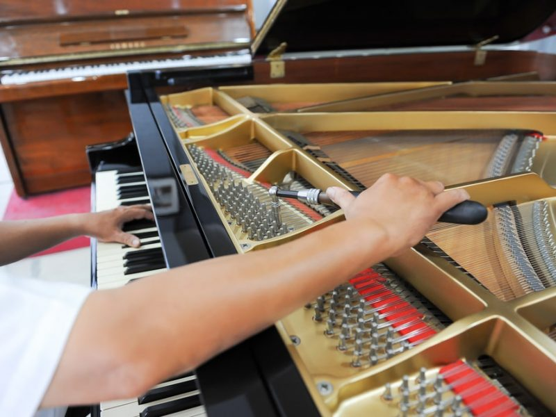 how much does it cost to tune a damage piano